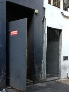 Fire Doors - behind 186 Bourke