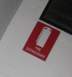 fire extinguisher signange melbourne
